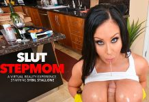 "Sybil Stallone in ""Slut Stepmom"""
